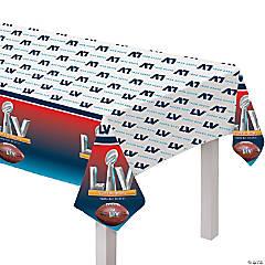 NFL® Super Bowl LV Plastic Tablecloth