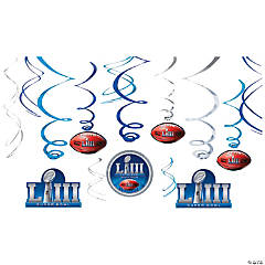 NFL® Super Bowl LIII Hanging Swirls