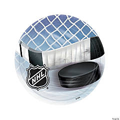 NHL® Ice Time Round Paper Dinner Plates