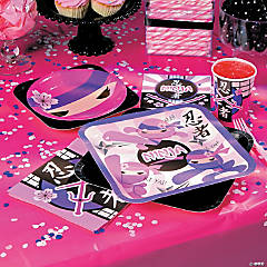 Ninja Girl Basic Party Pack