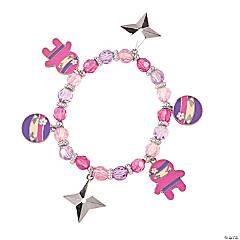 Ninja Girl Charm Bracelets