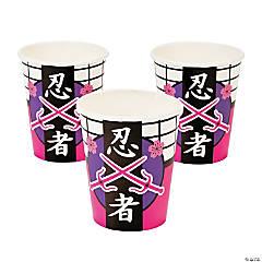 Ninja Girl Cups