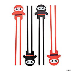 Ninja Plastic Chopsticks - 12 Ct.