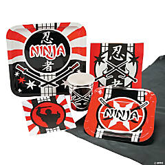 Ninja Warrior Tableware Kit for 8 Guests