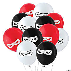 "Ninja Warriors 11"" Latex Balloons"