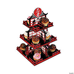 Ninja Warriors Cupcake Holder