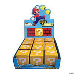 Nintendo Super Mario Bros.™ Candy Coins in Question Mark Boxes