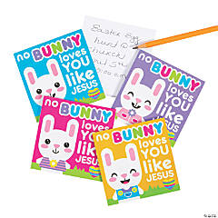 No Bunny Loves You Like Jesus Easter Notepads