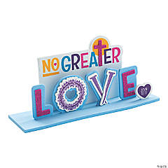 No Greater Love 3D Stand-Up Craft Kit