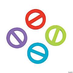 """""""No"""" Symbol Erasers"""