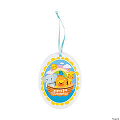 Noah's Ark Baby's 1st Christmas Ornament