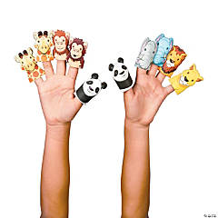 Noah's Ark Puffy Finger Puppets