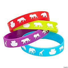 Noah's Ark Rubber Bracelets