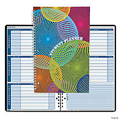 Non-Dated Student Planner/Assignment Book Spiral 7 x 11 Inch - Set of 3 planners