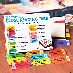 Nonfiction Close Reading Tabs