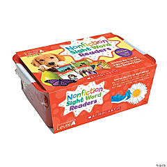 Nonfiction Sight Word Readers Classroom Tub, Level A, 6 Copies of 25 Titles