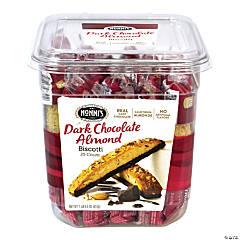 NONNI'S Biscotti Dark Chocolate Almond, 25 Count