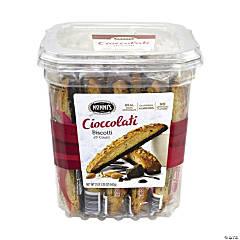NONNI'S Cioccolati Biscotti Cookie Tub, 25 Count
