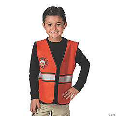 Nonwoven Polyester Boy's Firefighter Vest