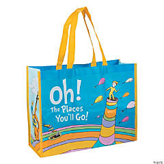 Nonwoven Polyester Large Dr. Seuss™ Oh, the Places You'll Go Shopper Tote Bag