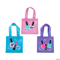 Nonwoven polypropylene bags Mini Spa Party Tote Bags