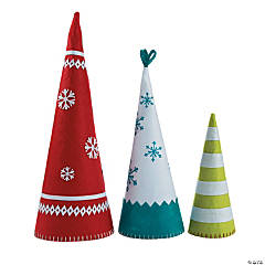 Nordic Noel Cone-Shaped Trees