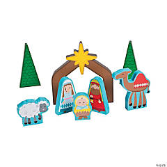 Nordic Noel Nativity Playset