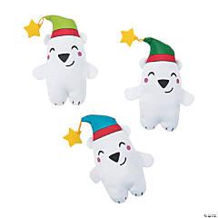 Nordic Noel Stuffed Polar Bears