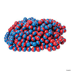 North/South Magnet Marbles Red/Blue