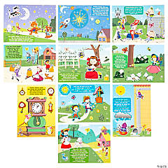 Nursery Rhyme Mini Sticker Scenes