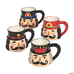 Nutcracker Ceramic Mugs