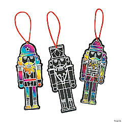 Nutcracker Magic Color Scratch Ornaments