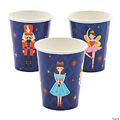 Nutcracker Paper Cups