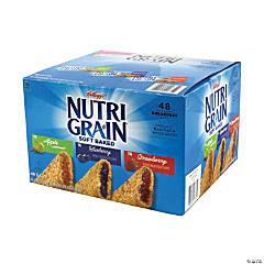 NUTRI-GRAIN Soft Baked Breakfast Bars Variety, 1.3 oz, 48 Count