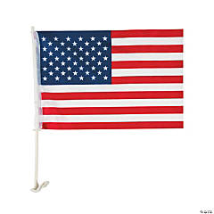 Nylon American Car Flag - 16