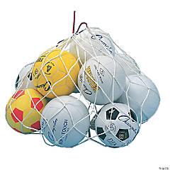Nylon Ball Carry Bag, Pack of 6