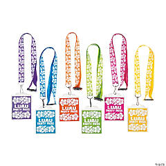 Nylon Beach Party Breakaway Lanyards