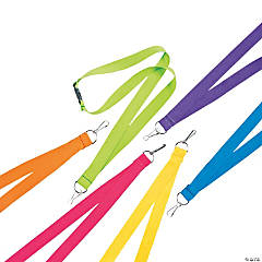 Nylon Bright Breakaway Lanyards