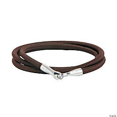 Nylon Brown Elastic Cord Bracelets
