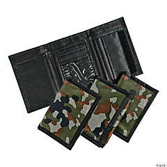 Nylon Camouflage Wallets