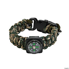 Nylon Compass Paracord Bracelet Craft Kit