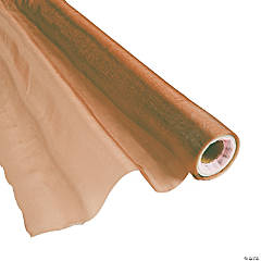 Nylon Copper Shimmer Fabric Roll