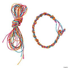 Nylon Friendship Bracelet Craft Kit