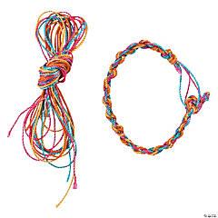 Nylon Friendship Bracelet Craft Kit