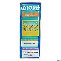 Nylon Idiom Pocket Chart