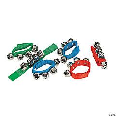 Nylon Jingle Bell Wristbands