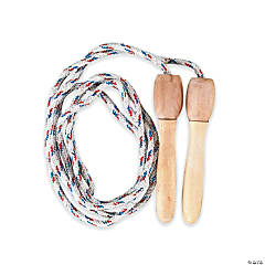 Nylon Jump Ropes with Wooden Handles