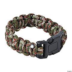 Nylon Large Camouflage Paracord Bracelets