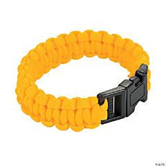 Nylon Large Yellow Paracord Bracelets