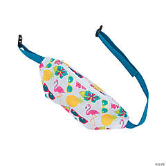 Nylon Luau Fanny Packs